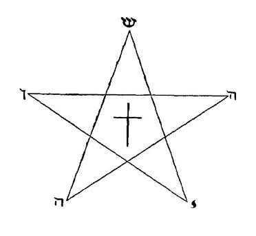 Pentagramme IESHOUAH