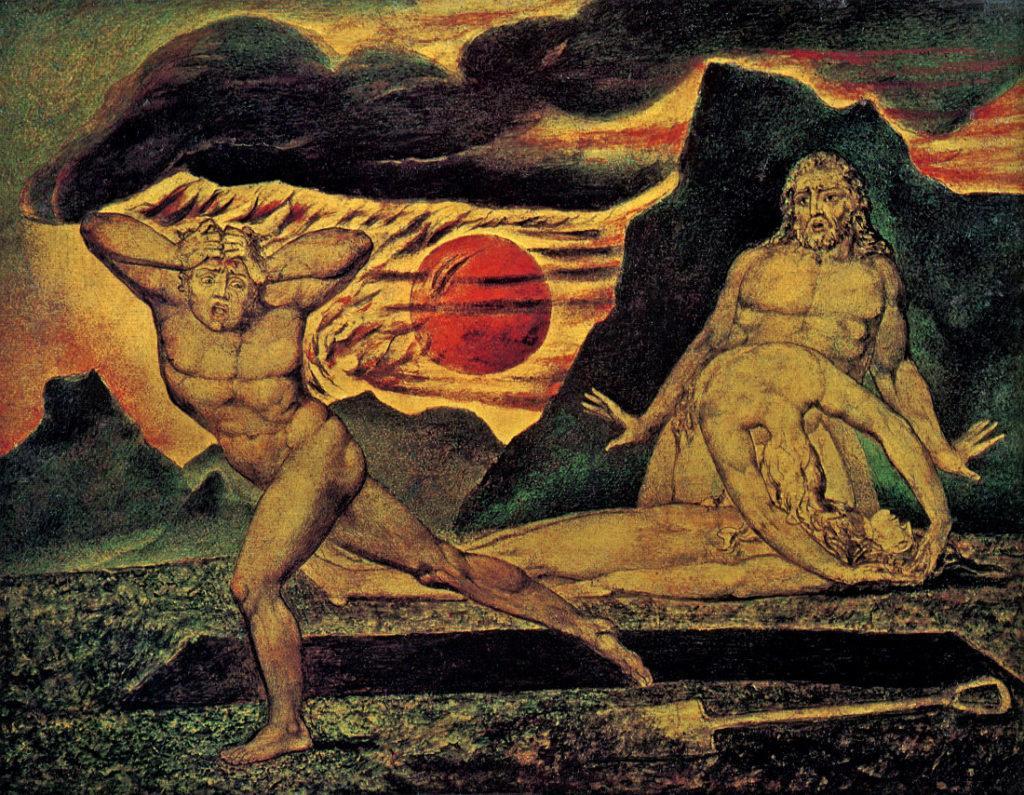 Caïn par William Blake - Je suis Caïn II par Carlo Suarès